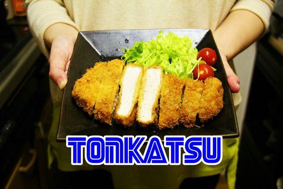 TONKATSU - Come preparare la cotoletta di maiale fritta giapponese