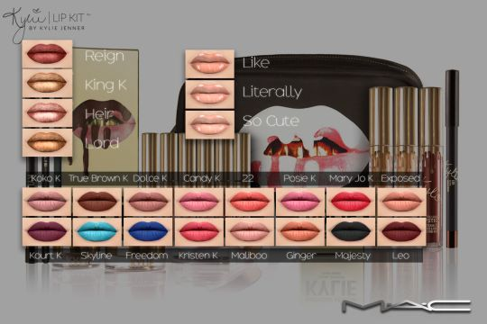 """Sims 4 CC's - The Best: Kylie Cosmetics """"The Limited Edition Birthday Coll..."""