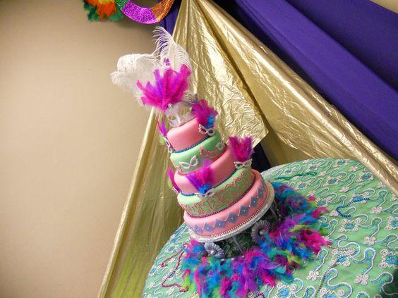 Decoracion Quincea?ero Neon ~ Pin Bizcocho Quinceanero Ajilbabcom Portal Cake on Pinterest
