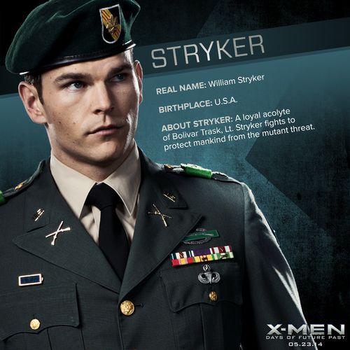X Men Days Of Future Past William Stryker Stryker (X-men days of...