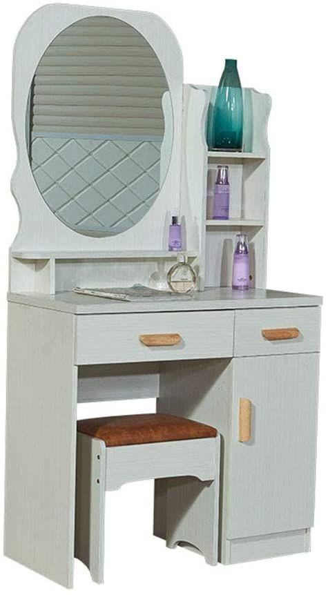 Boewan Vanity Mirror Dresser Table, Vanity Mirror Sets Furniture