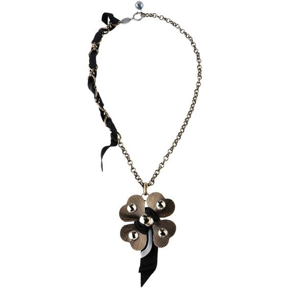 Lanvin Necklace (2.735 BRL) ❤ liked on Polyvore