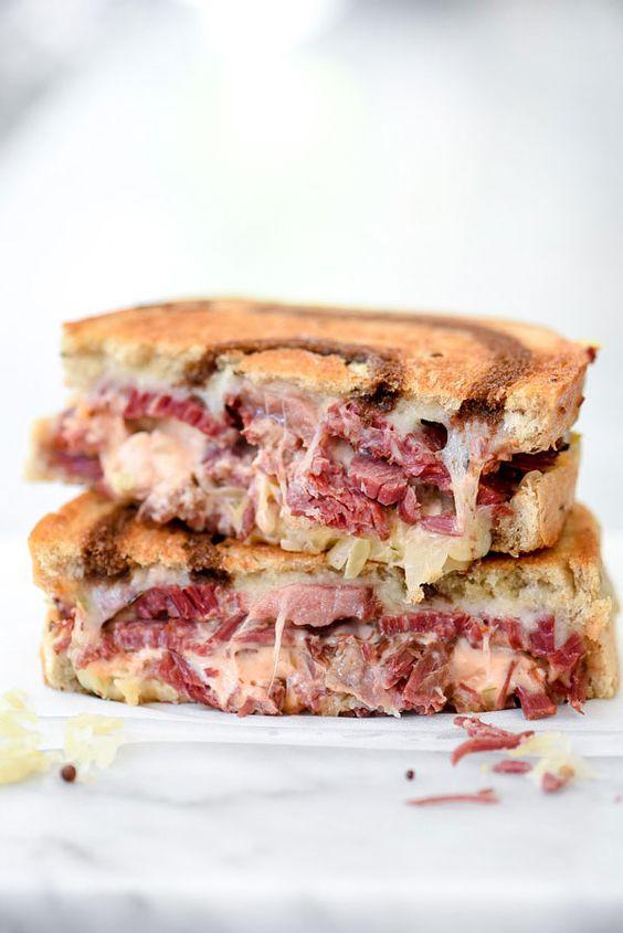 My Favorite Reuben Sandwich Recipe   foodiecrush.com