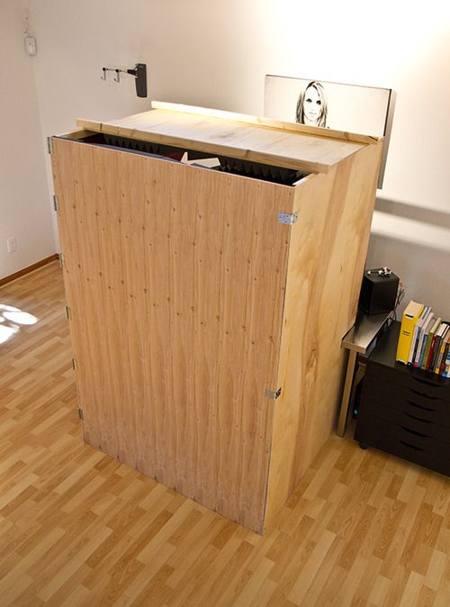 Sensational Diy Collapsible Sound Booth Brilliant Vocal Booths Largest Home Design Picture Inspirations Pitcheantrous
