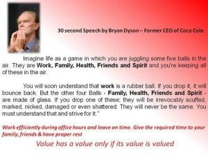 30 second speech by former ceo of coca cola