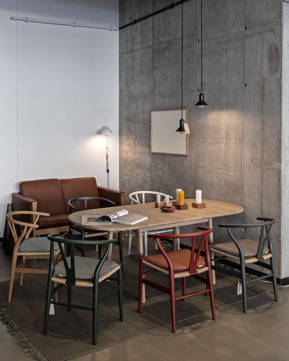 家具 ブランド メーカー インテリア 北欧 デンマーク カール・ハンセン&サン Yチェア CH24 コーディネート例