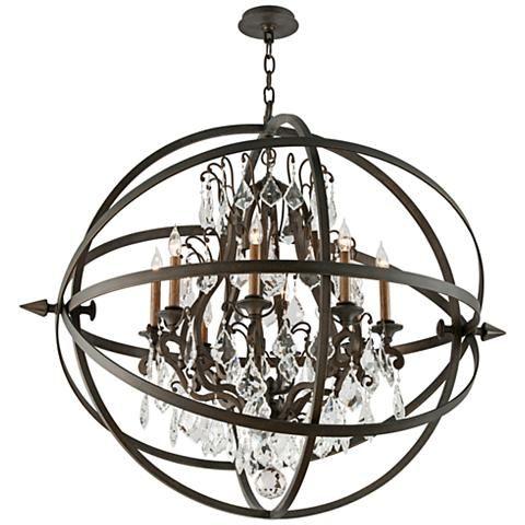 Bryron 41 1 2 Wide Vintage Bronze Chandelier 2x851 Lamps