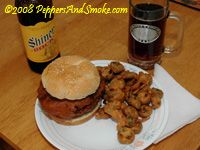 Deep fried bacon burger?!!