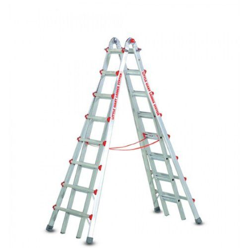 Little Giant Ladder 10108 Skyscraper Mxz Adjustable Stepladder 13 Foot Review Little Giants Ladder Multi Purpose Ladder