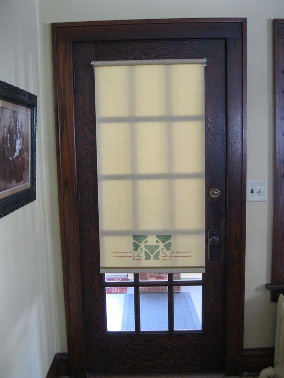 window coverings for glass front doors thehandwerkshop