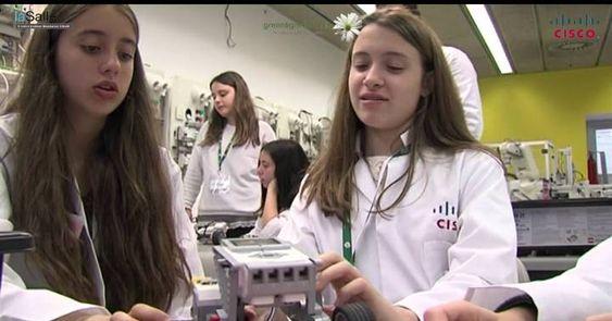 Promover las carreras científicas entre las escolares.