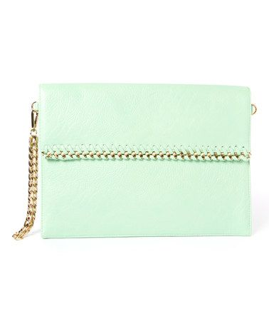 Another great find on #zulily! Mint Convertible Envelope Clutch #zulilyfinds