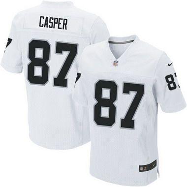 NFL Jersey's Men's Oakland Raiders Darren McFadden Nike White Limited Jersey