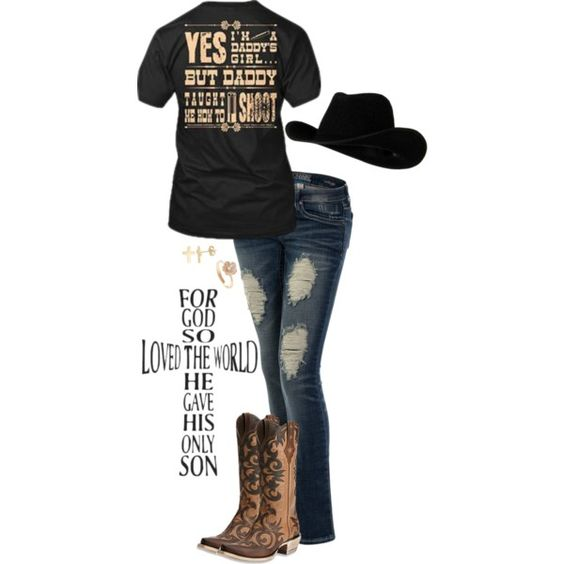 July In Cheyenne by christina-marie-miller on Polyvore featuring Ariat and Fremada