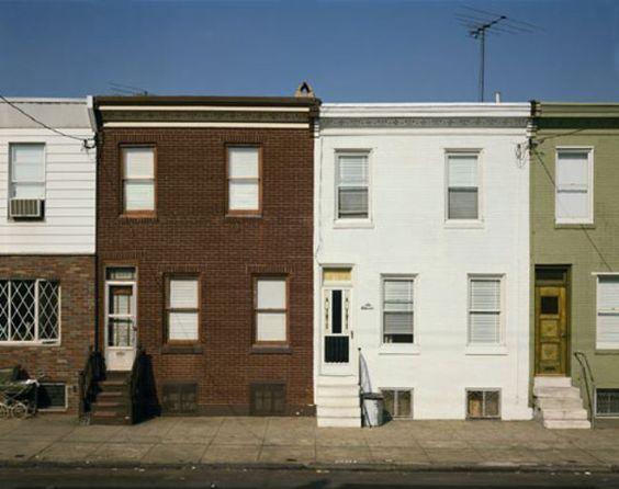 Steven Shore : Wolf Street, Philadelphia, Pennsylvania 10/28/75