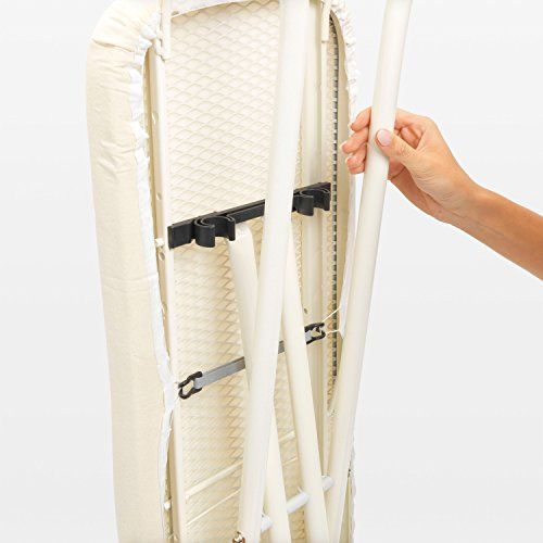 Brabantia Ironing Board With Steam Iron Rest Size B Standard Ice Water Cover Price As Of Details Brabantia Iron Rest Brabantia How To Iron Clothes