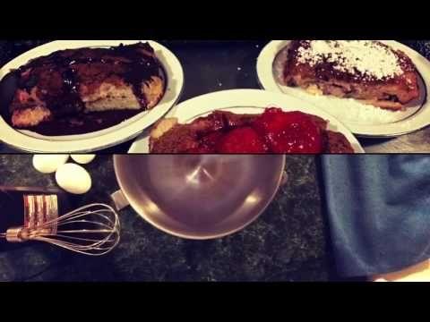 فرنش توست بالفرن سهل و سريع و طعمه جنان Cinnamon French Toast Bake Recpie Youtube Cooking Food Beef
