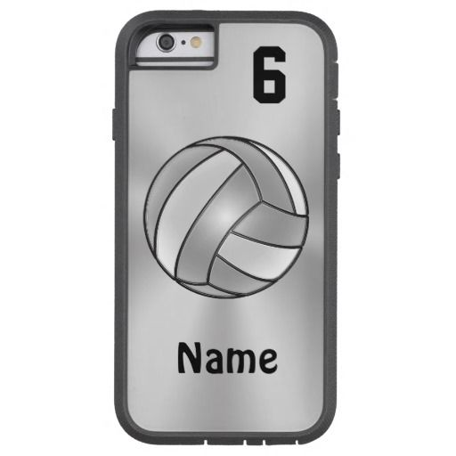 volleyball iphone 6 cases with your name and number available in the tough extreme as shown. Black Bedroom Furniture Sets. Home Design Ideas
