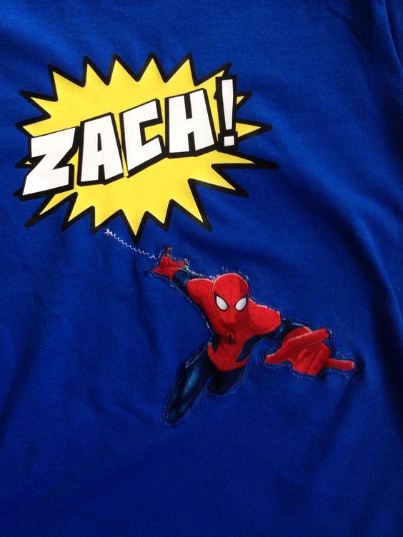 Superhero Shirt Spiderman Vinyl Htv Stuff I Made