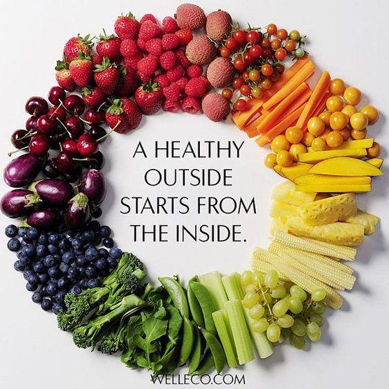 Começa tudo por dentro  Não se esqueçam de comer os vossos verdes, frutas e muitos legumes... E porque não começar o dia com um sumo verde ? #purosumo