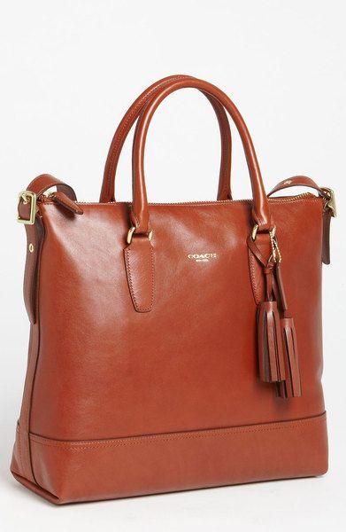 cognac coach purse leather coach bag. Black Bedroom Furniture Sets. Home Design Ideas