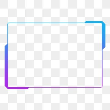 Frame Technological Sense High Tech High Tech Border Blue Box Text Box Transparent Cool Decorative Pattern Line Box Png Fre Bingkai Vektor Gratis Desain Brosur