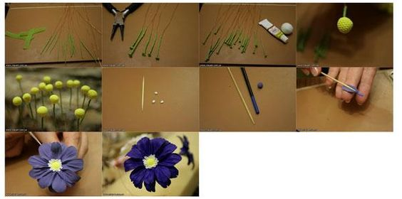 how to make gum paste flowers step by step