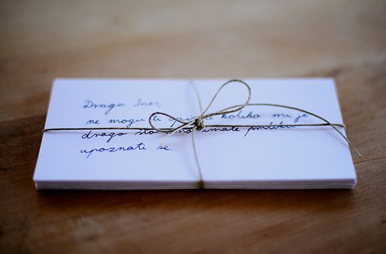 Matters of Simplicity | by Ines Perkovic: DEAR FRIENDS AND SURPRISES IN THE MAIL