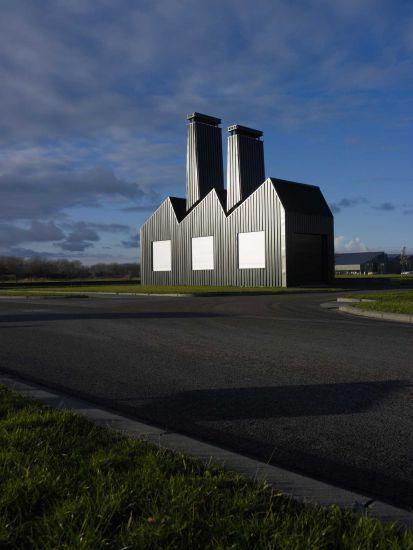Florentijn Hofman - Little Factory Drachten, (NL) 2012 5 x 12 x 14 meters