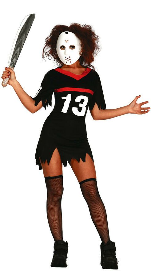 Adults Friday 13th Costume Mens Ladies Couples Fancy Dress Halloween Outfit New Couples Fancy Dress Halloween Outfits Halloween Fancy Dress