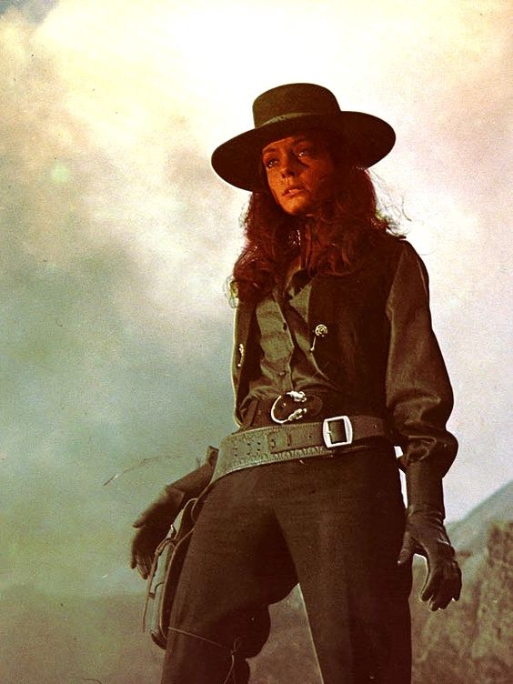 "Patty Shepard as outlaw gunslinger in ""A Man Called Noon""!"