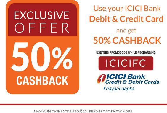 freecharge icici bank coupon 2015