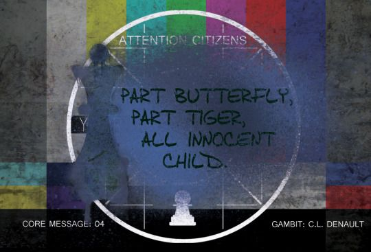 Part Butterfly, Part Tiger | GAMBIT by Cary Denault #YA #MustRead #Books | www.amazon.com/dp/B00VHHE21S