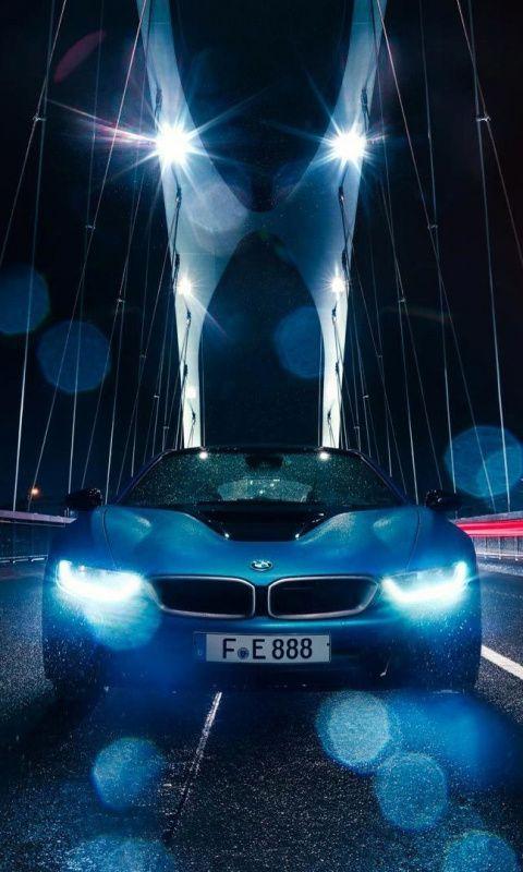 Bmw I8 Headlight Bridge 480x800 Wallpaper Bmw I8 Bmw