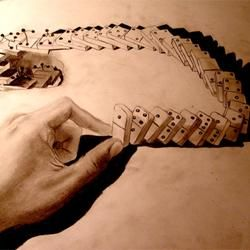 Impressive 3D Pencil Drawings