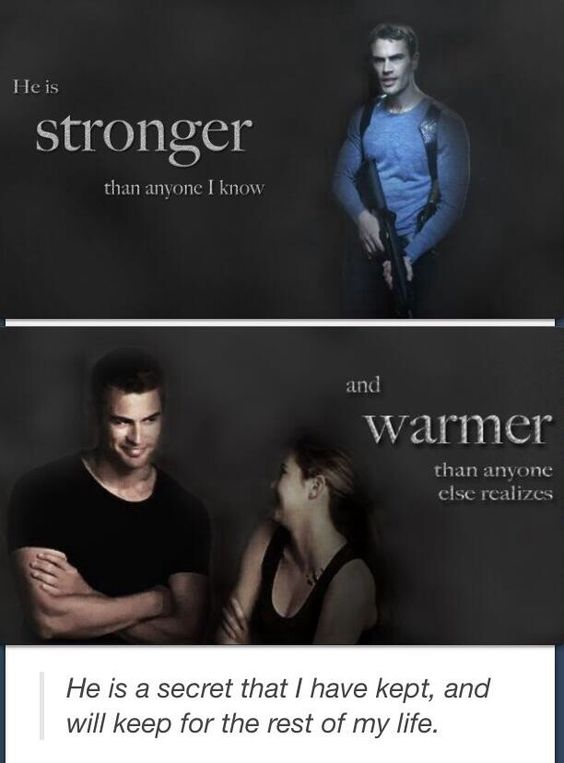 Divergent, Divergent quotes and Tobias on Pinterest