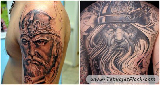 10 tatuajes de Vikingos