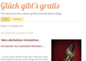 Glück gibt's gratis - #Mamablog