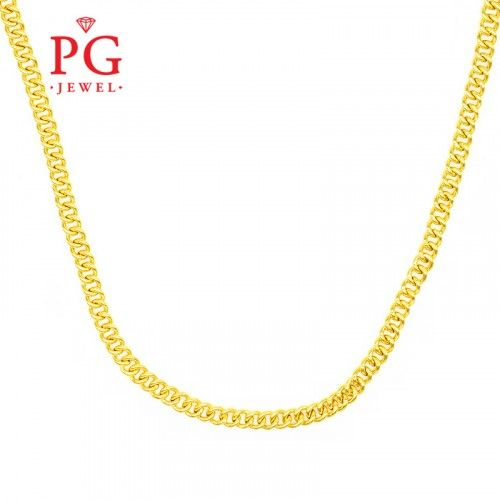 22k Gold Necklace By Pg Jewel In 2020 22k Gold Jewelry Necklaces 22k Gold Jewelry Gold Jewelry Necklace
