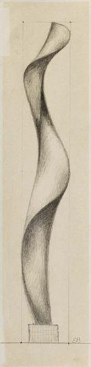 Etienne Beothy - Studie für Skulptur