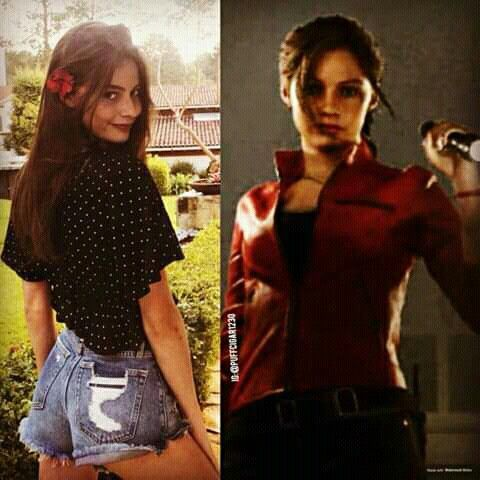 Claire Redfield Face Model Re2r Resident Evil Game
