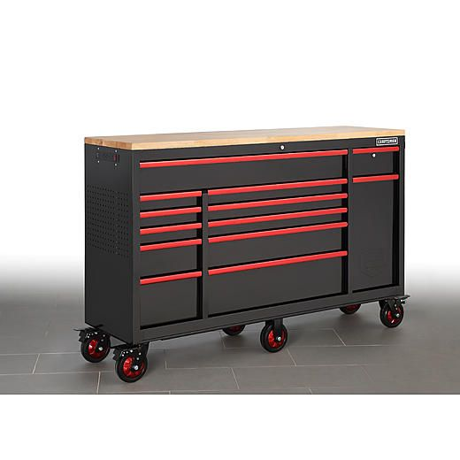U S General Pro 69399 7 Drawer Red End Cabinet For Roller Tool Chest Tool Storage Cabinets Tool Chest Harbor Freight Tools