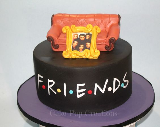 friends cake friends theme cake friends tv show birthday party cakes ...