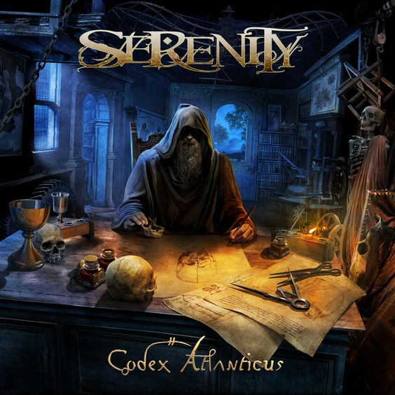 Serenity – Codex Atlanticus - https://fotoglut.de/musik-2/reviews/2016/serenity-codex-atlanticus/