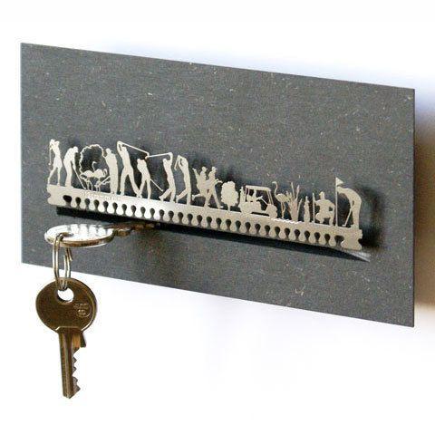 Golf key holder.