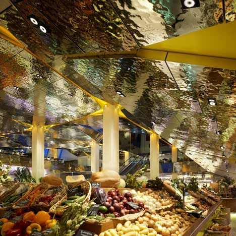 Tsvetnoy Central Market by Lifschutz Davidson Sandilands