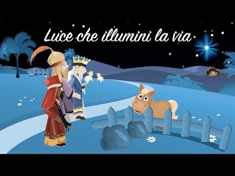 Amico Stella Canzone Di Natale.Buon Natale Luce Che Illumini La Via La Stella Cometa Youtube Buon Natale Natale Bambini Di Natale