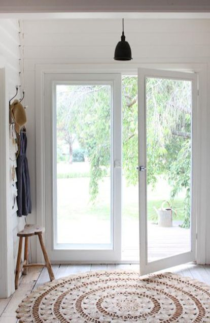 Would love to turn my sliding glass doors into this