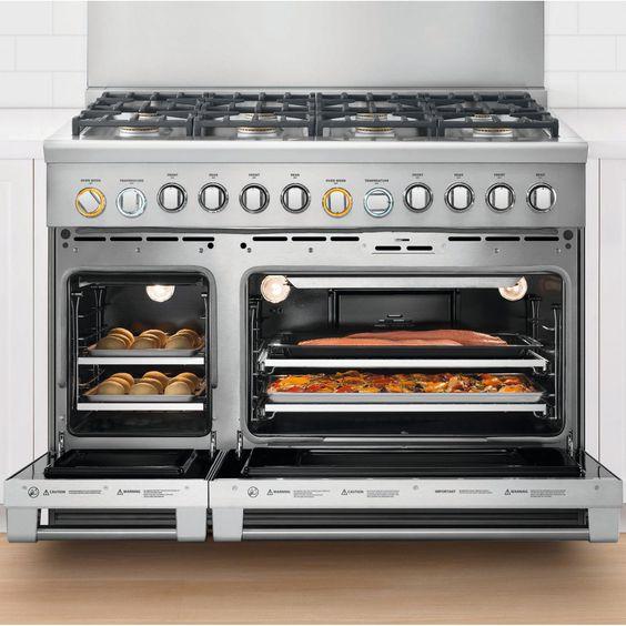 Dcs 48 Inch Professional 6 Burner Natural Gas Range With Griddle Rgv2 486gd N Dcs 48 Inch Professional 6 Burner Natural Gas Range Oven Racks Home Appliances