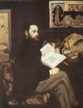 Édouard Manet - Portrét Émila Zoly